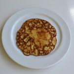 glutenvrije pannenkoek met banaan